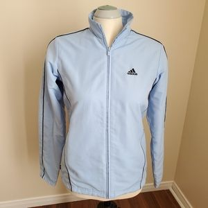 Adidas/Blue Light Zip-Up Jacket/ Size S